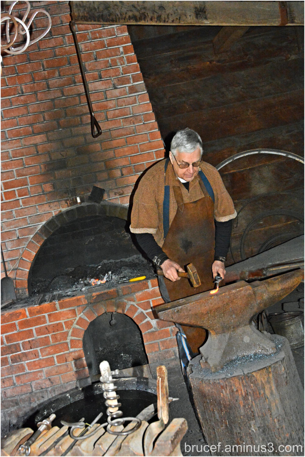 Fort Nisqually Blacksmith