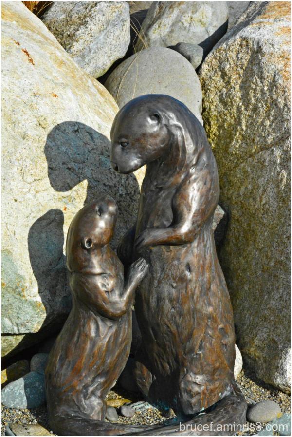 Sea Otter Statue  Tacoma WA