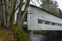 Crawfordville Covered Bridge Oregon