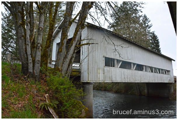 Crawfordville Covered Bridge Oregon