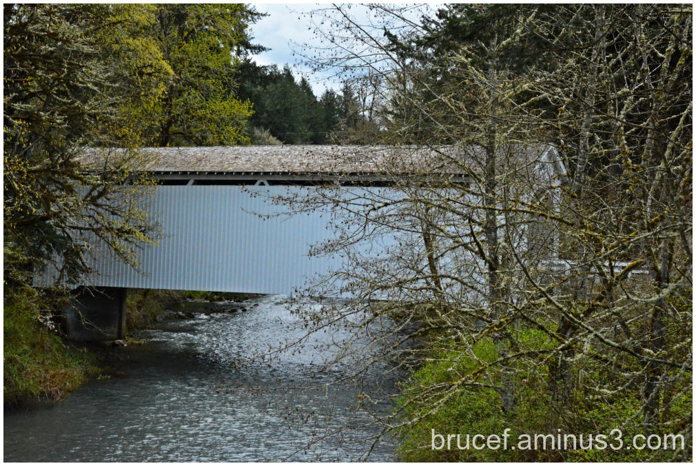 Mosby Creek Covered Bridge Oregon