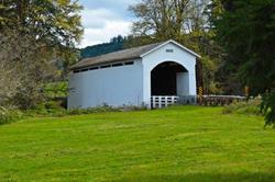Mosby Creek Covered Bridge Oregon