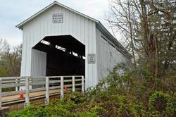 Parvin Covered Bridge   Oregon