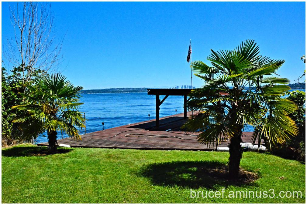 A beautiful Seattle day on Lake Washington
