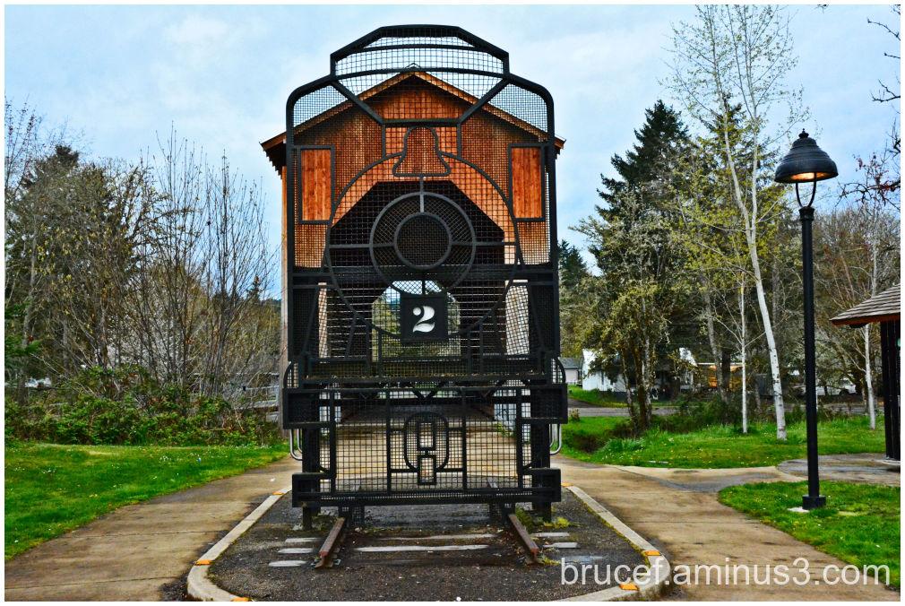 Chambers Railroad Covered Bridge Oregon