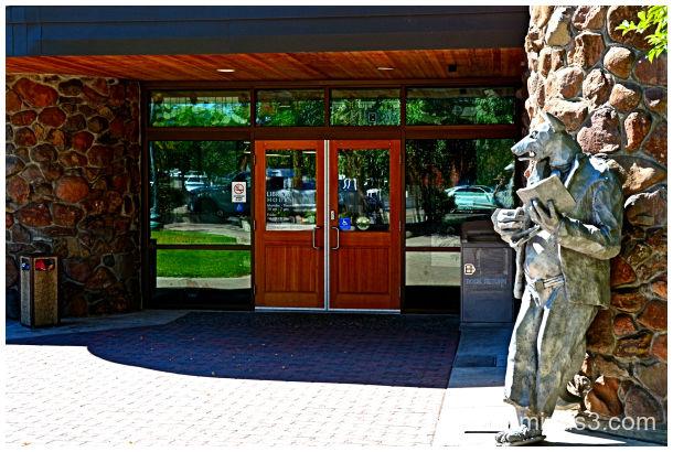 Kitt Coyote Statue