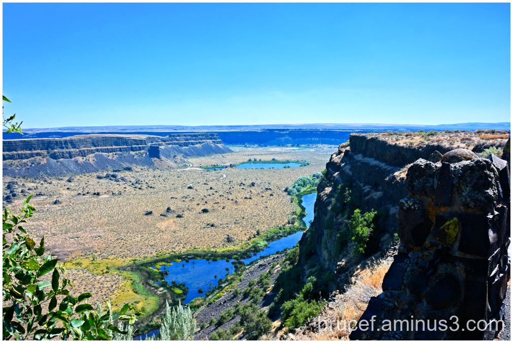 Dry Falls Washington State