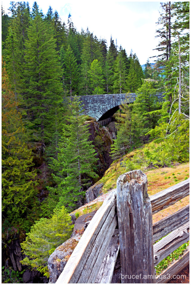 Stone Bridge on Mt Rainier