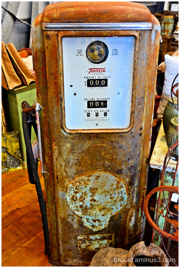 Gas Pump from the past
