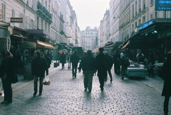 29 Rue Cler, Paris, ile-de-France - Market Street.