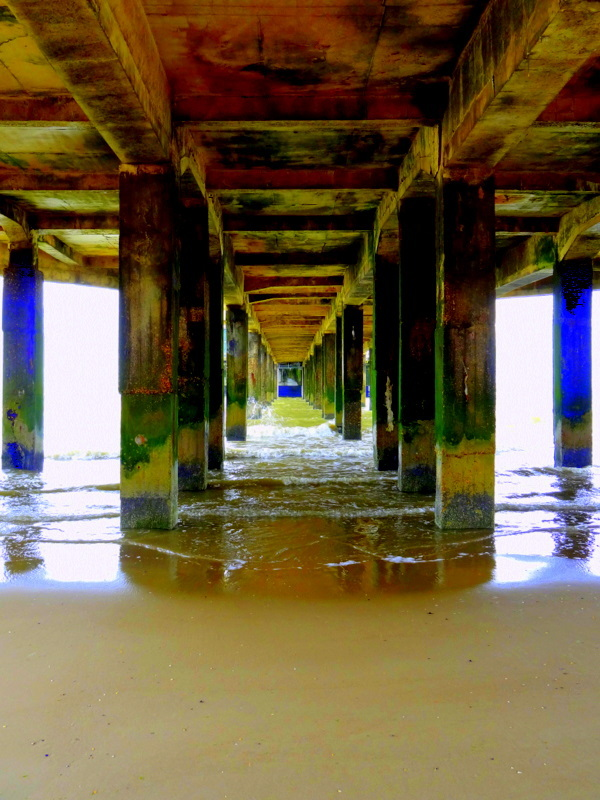 underneath the pier 1/2