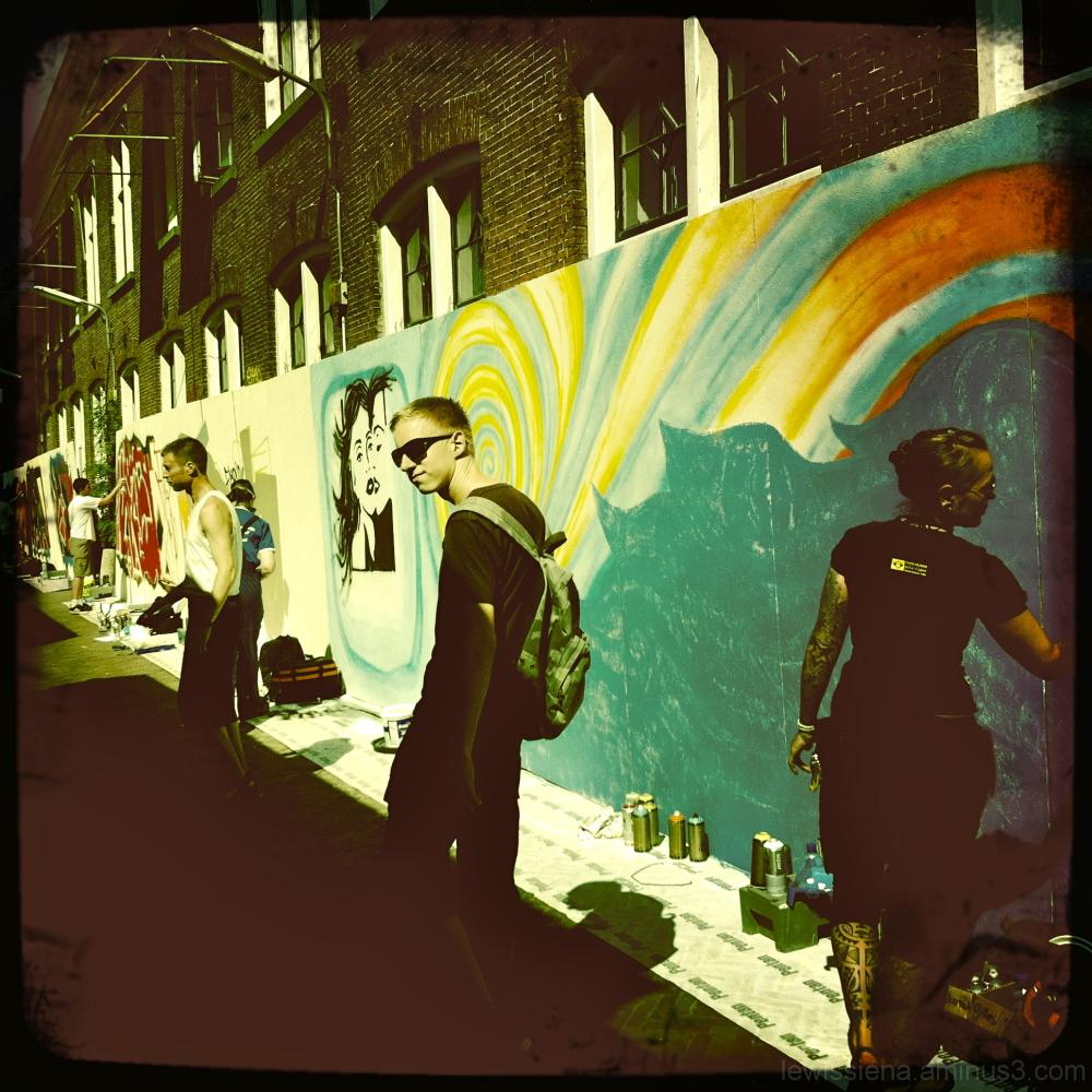 Straatfestival Leeuwarden Fries Graffiti