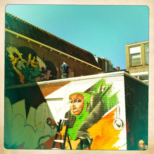 graffiti leeuwarden