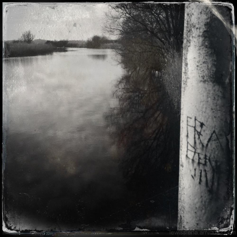 pole river inscriptions barrier