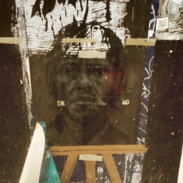 reflection face gezicht raam