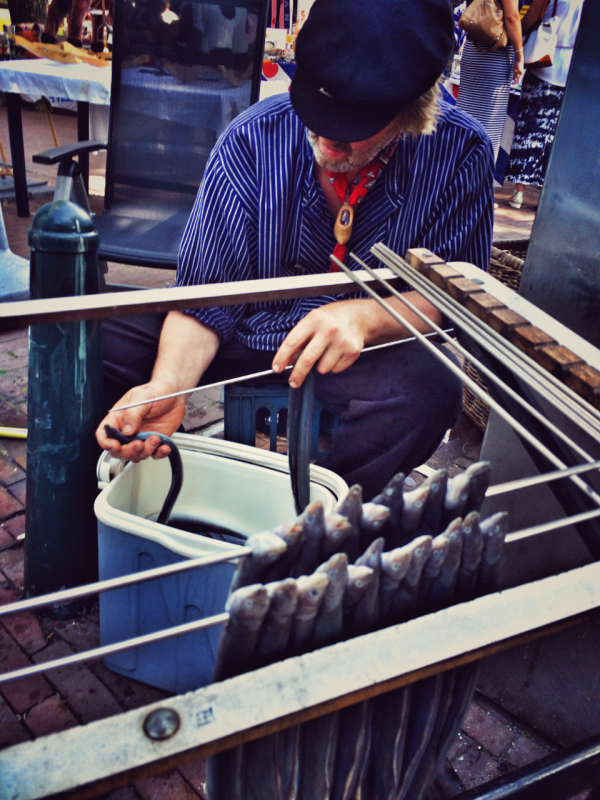 iel eel paling rokerij visserijdagen Harlingen