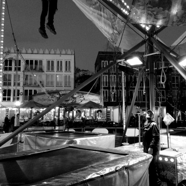kermis fair leeuwarden trampoline