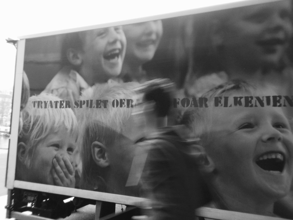 vrachtwagen man theater truck lorry tryater