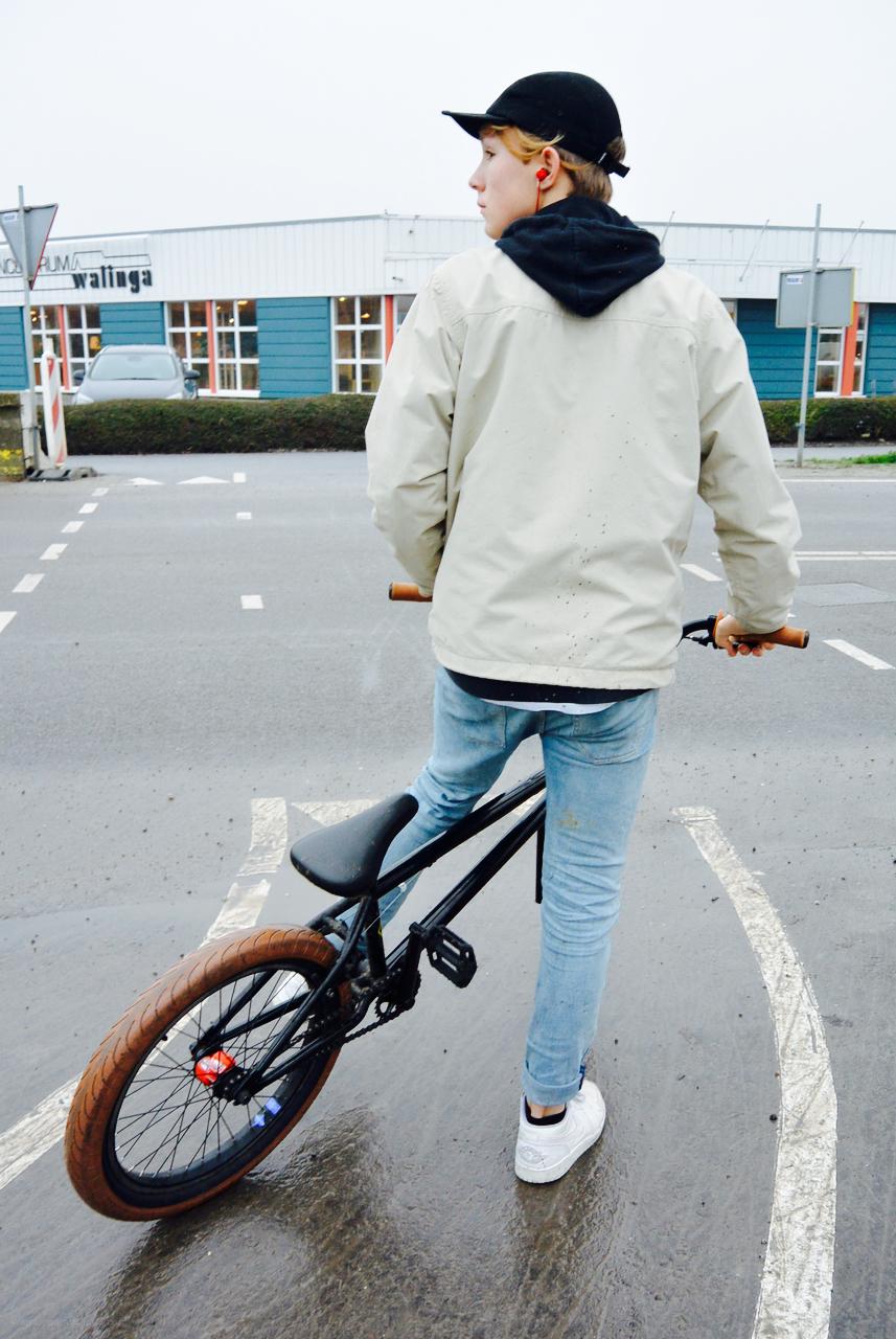 bmx fietser