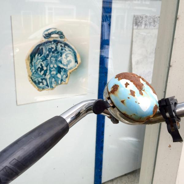 keramiek ceramics fietsbel