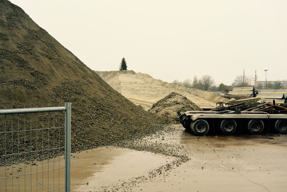 tree boom kerstmis christmas sand heaps