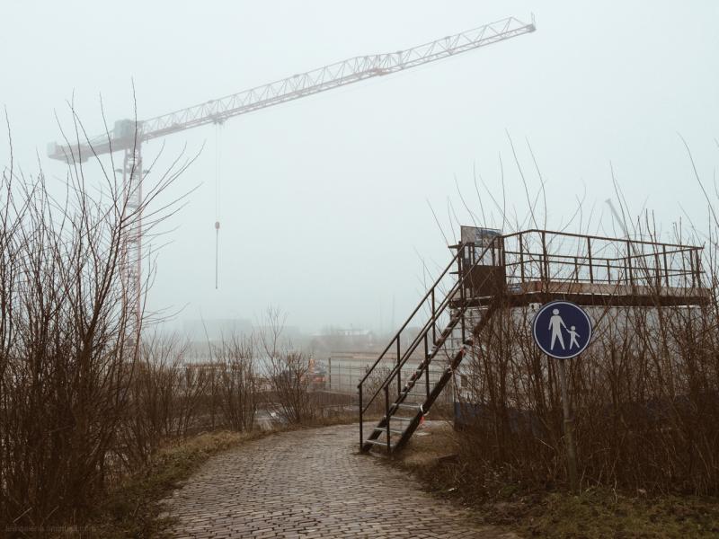 crane kraan viewing point uitkijk punt