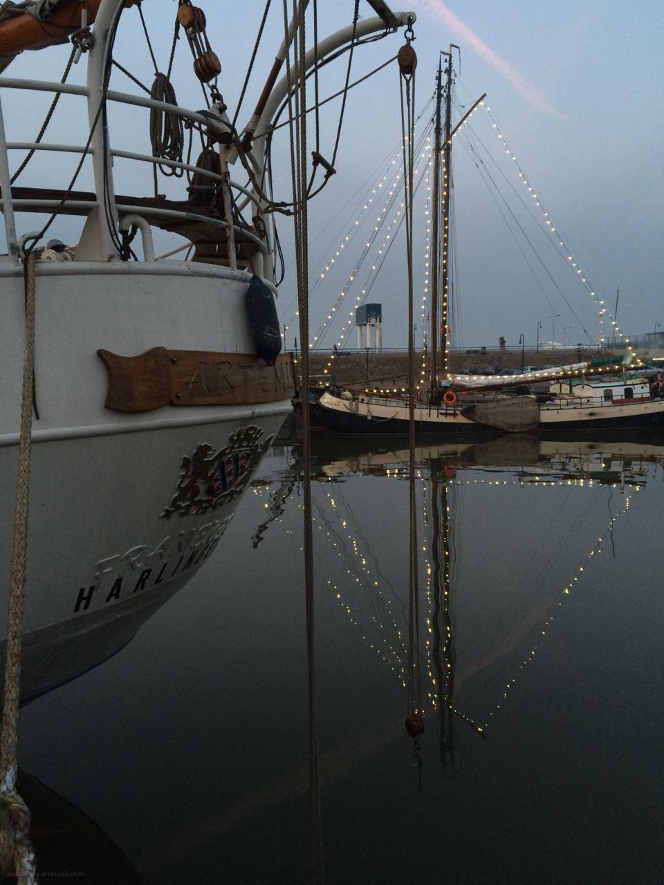 ship schip ruiten diamant lights lichtjes
