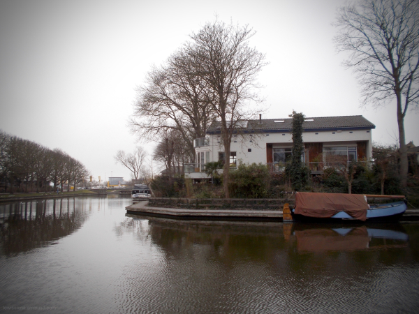 house on hill huis singel gracht moat