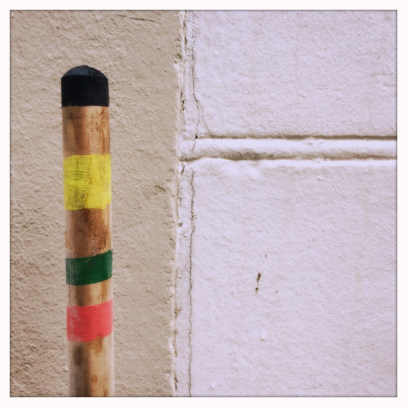 striped pole urban minimalism