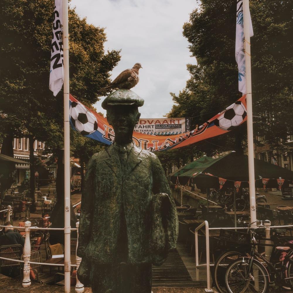 anton wachter simon vestdijk duif pigeon banner