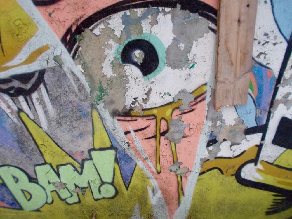graffiti balkinoog