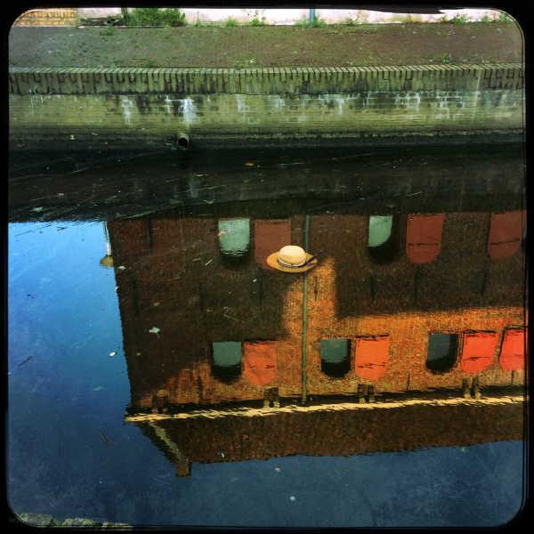 hat moat float reflections