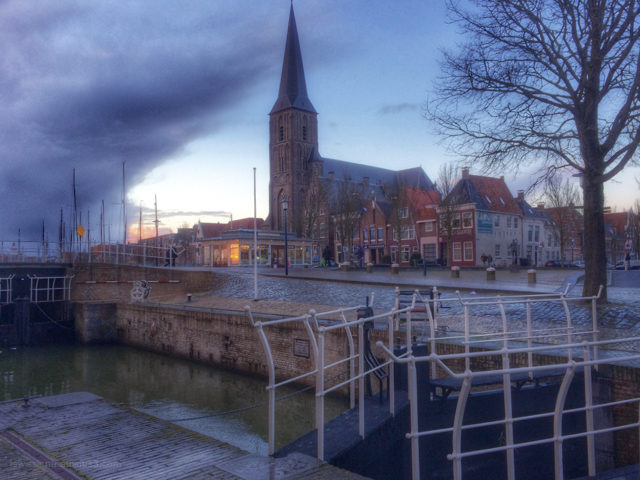 sluis kerk lock church