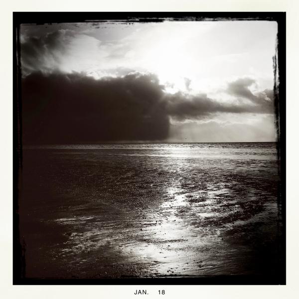 sea sky wadden zee
