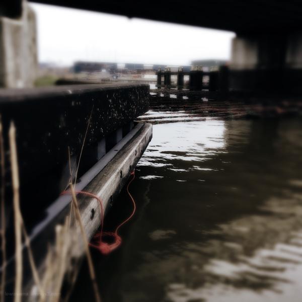 mat rope touw bridge brug