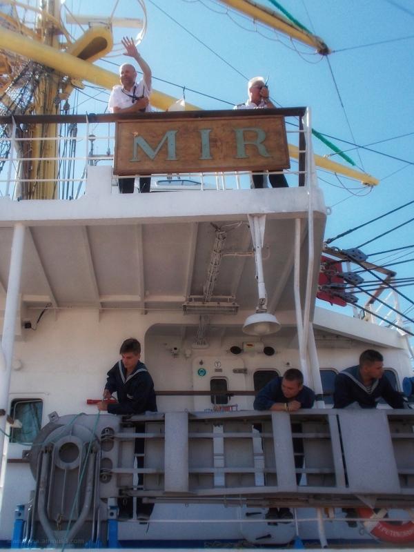 Tall ships russia