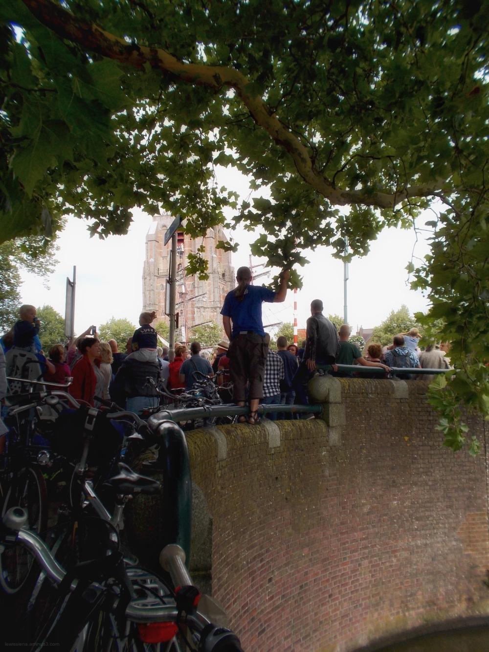 Spectators toeschouwers