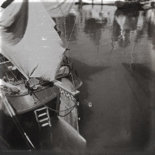 Ship schip achtersteven stern