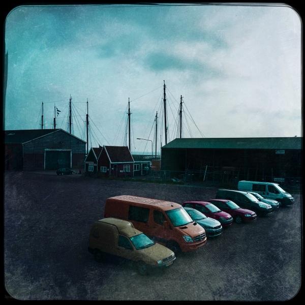Cars auto's werf wharf