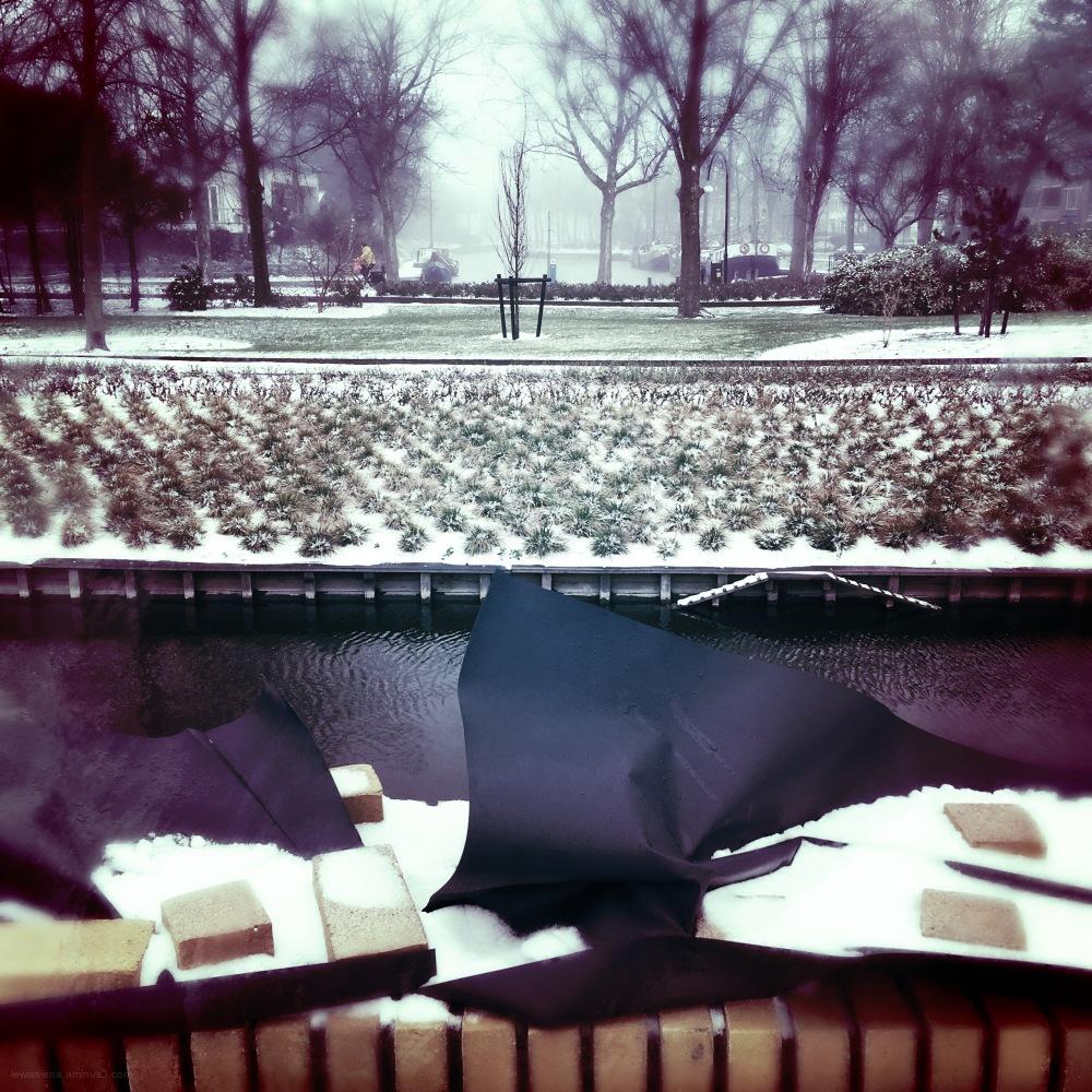 new wall snow sneeuw park