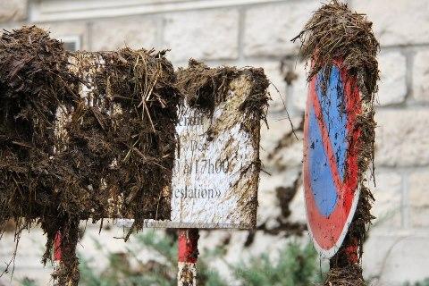 Manifestation contre la nouvelle loi nitrates.
