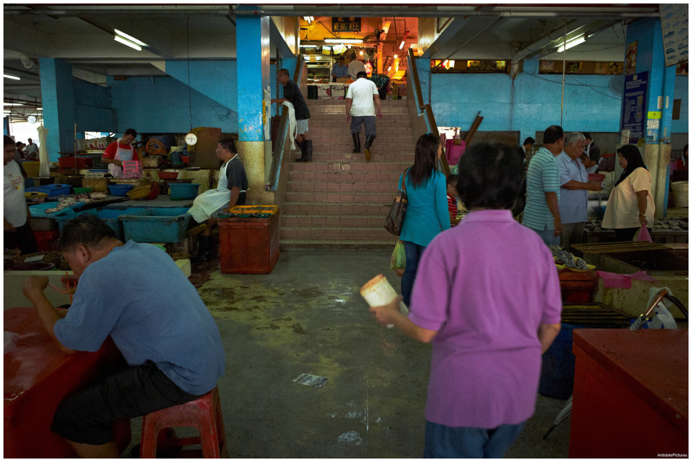 Central Markets are busy places ::: Ipoh, Malaysia