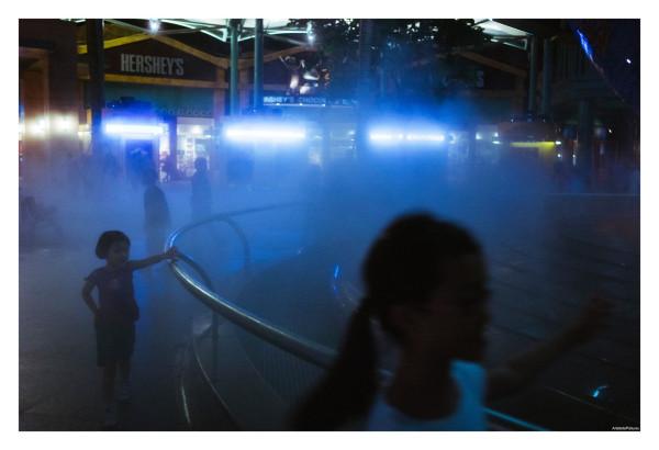 A little bit of mist is fun ::: Singapore