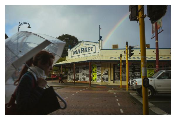 Rain & Rainbow ::: Subiaco, Perth