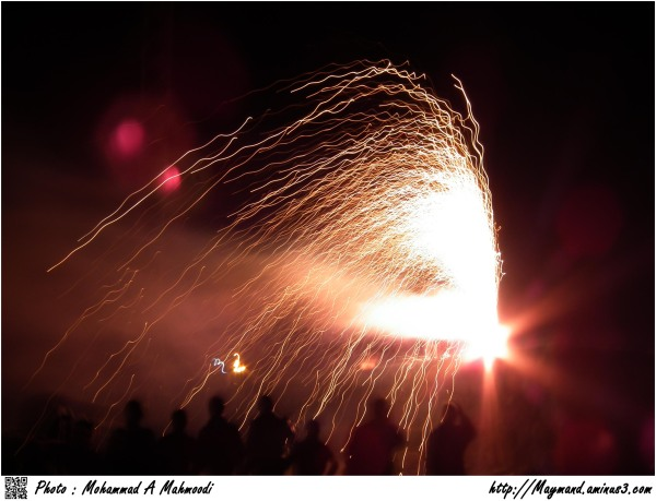 Fireworks 1 (Iranians celebrate)