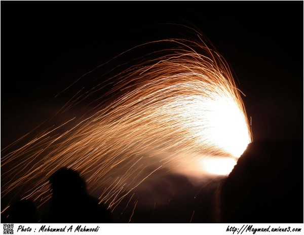 Fireworks 3 (Iranians celebrate)