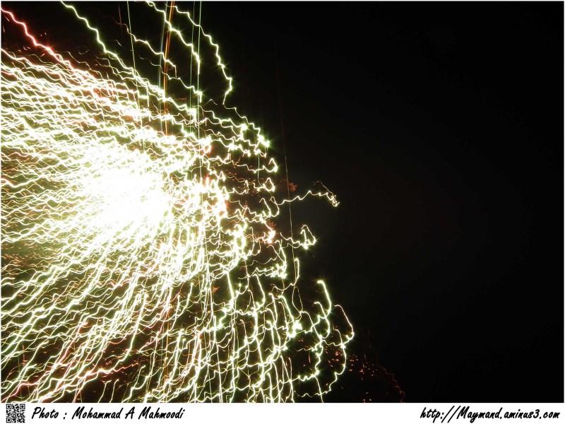 Fireworks 4 (Iranians celebrate)