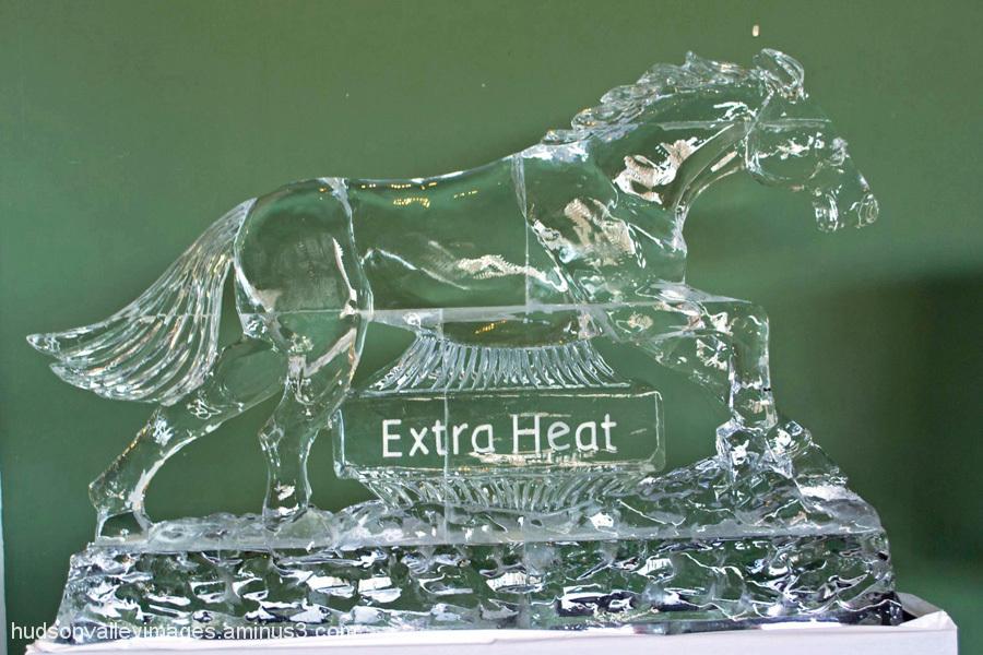 Extra Heat Ice Sculpture