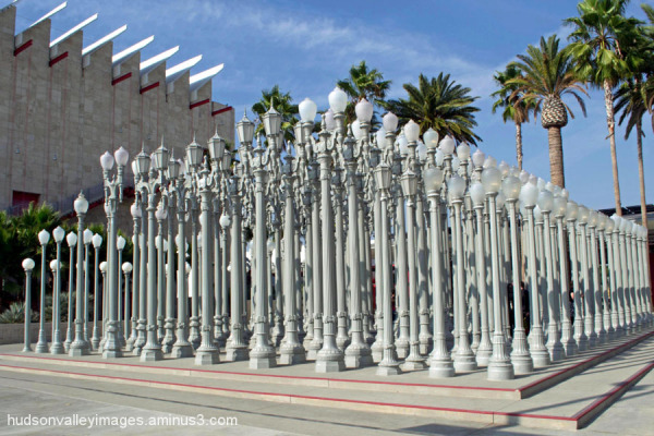 Urban Light Lamp Post Exhibit