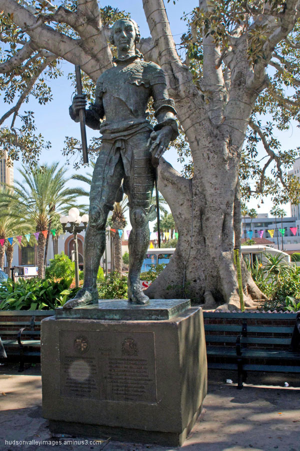 Carlos III Statue
